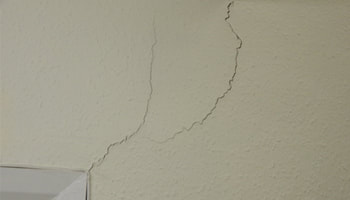 Photo of structural cracking by Antino and Associates Party Wall Surveyors in Chelmsford